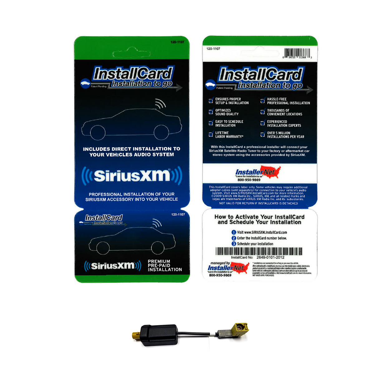 Shop SiriusXM - WCS Filter with InstallCard - ONE_SIZE-IMAGE01