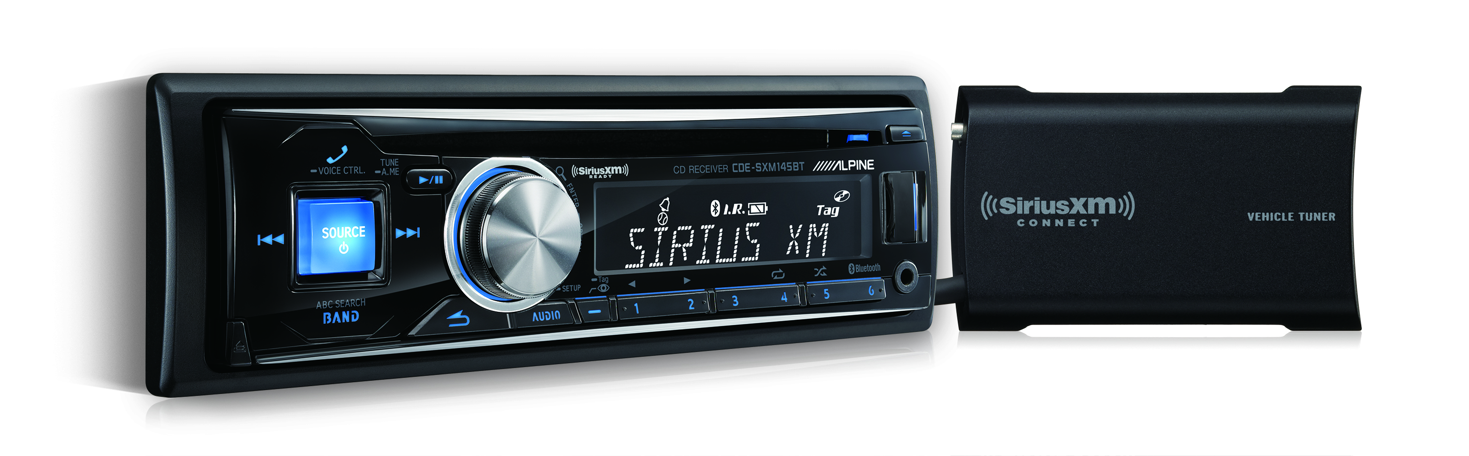 Shop SiriusXM - Alpine CDE-SXM145BT - ONE_SIZE-IMAGE01