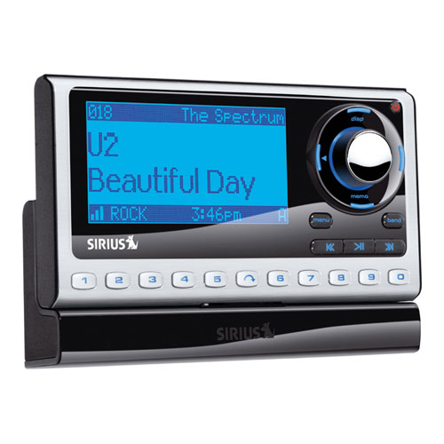 sportster 4 dock & play radio with vehicle kit