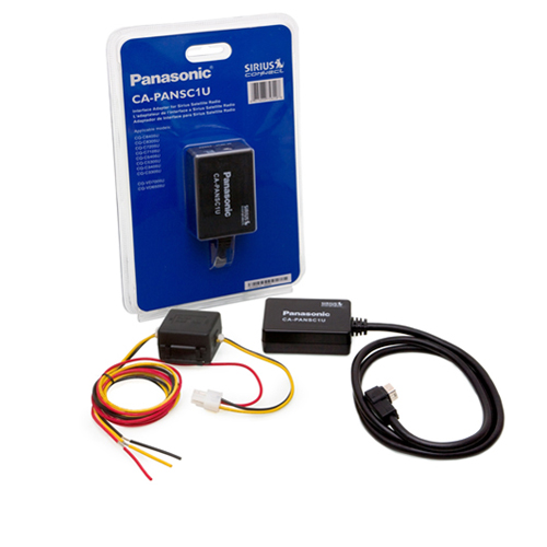 Shop SiriusXM - Panasonic Compatible SiriusConnect Interface Adapter - ONE_SIZE-IMAGE01