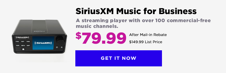 SiriusXM Music For Business