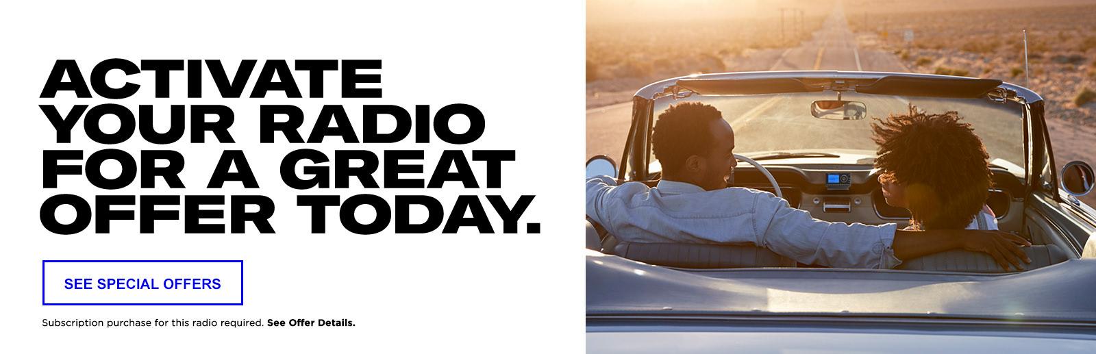 Radios - Shop SiriusXM